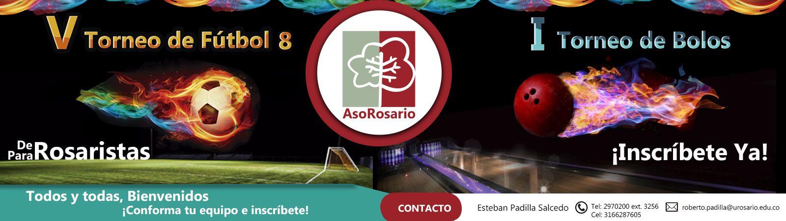 Torneo de Futbol 8 y Bolos AsoRosario